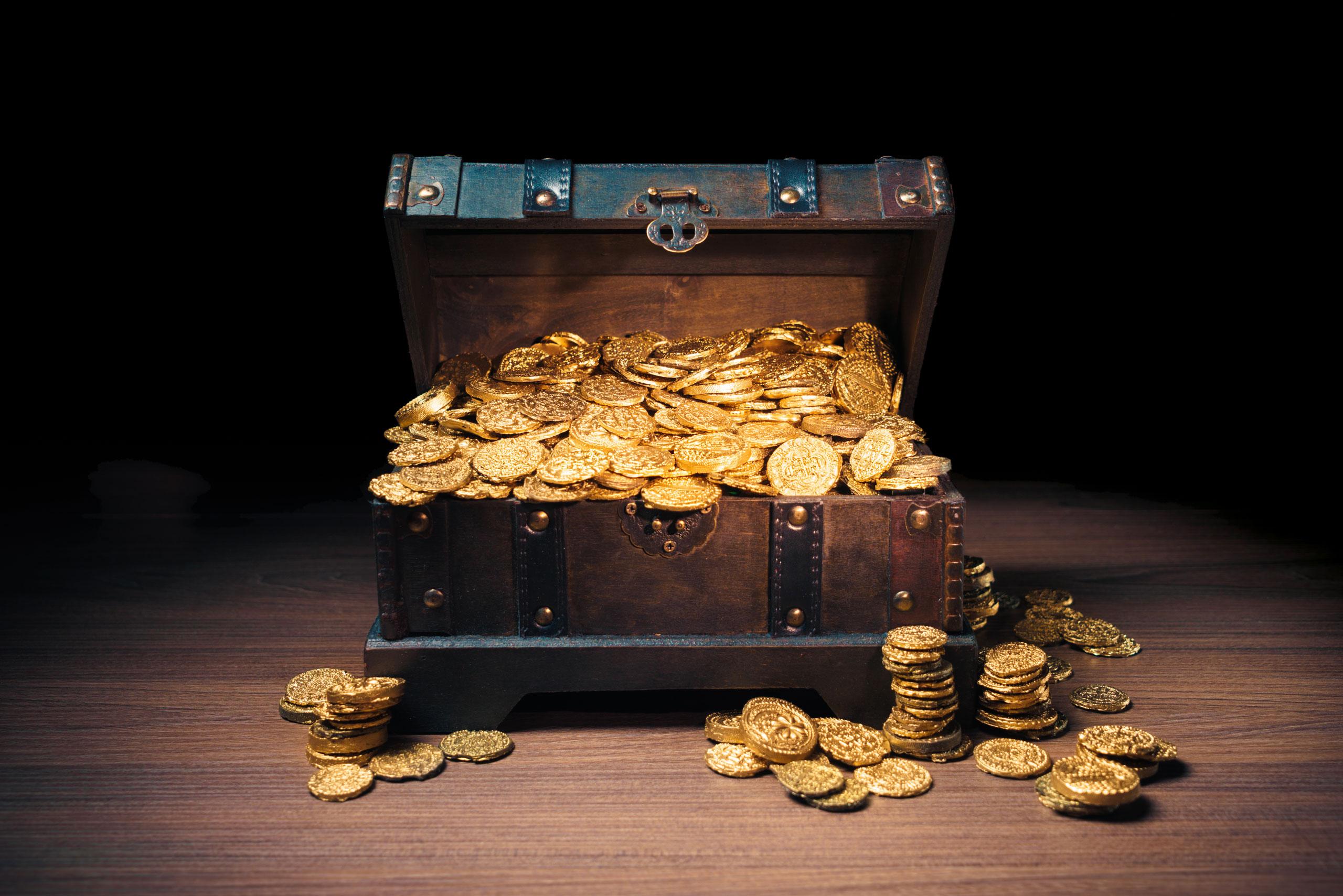 Anlagemünzen Kiste